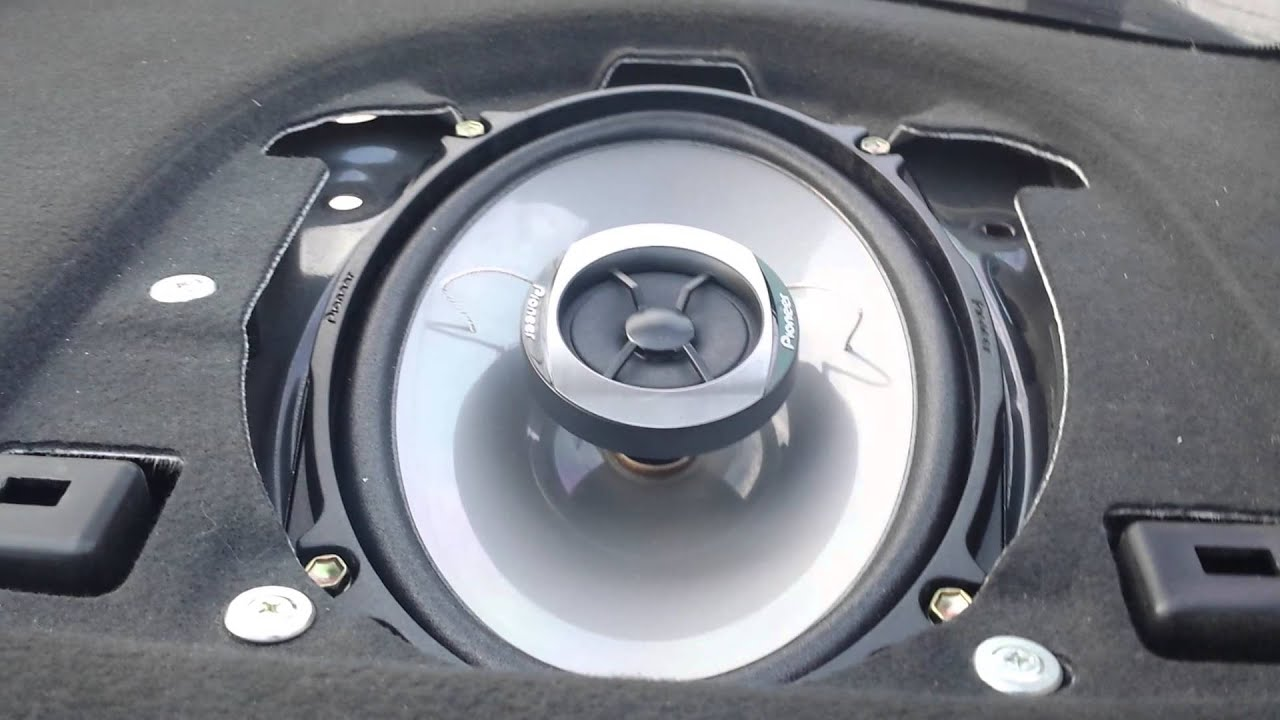 replacing speakers on a 2004 acura tsx youtube