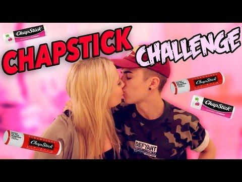 THE CHAPSTICK KISSING CHALLENGE!! W/ JAKE MITCHELL