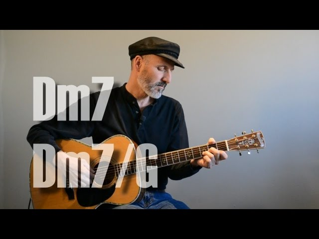Dm7, Dm7/G Chord - Guitar Lesson Chords - Chordify
