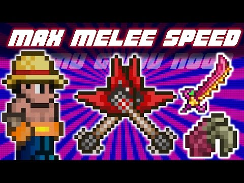 Terraria 1.3.3.3 MAX MELEE SPEED