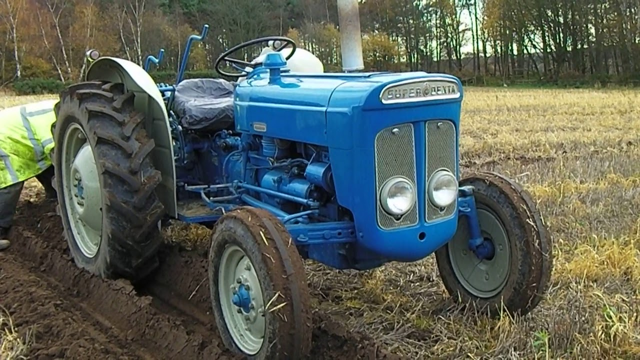 1964 fordson super dexta 2 5 litre 3 cyl diesel tractor. Black Bedroom Furniture Sets. Home Design Ideas