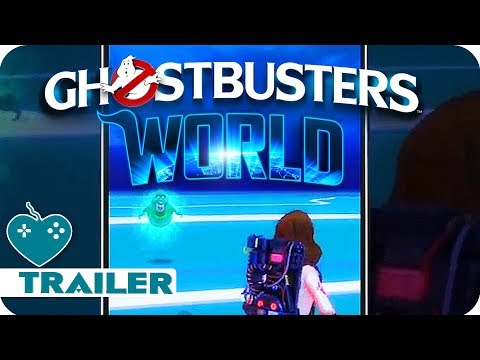 Ghostbusters World New Gameplay & Trailer (2018) iOS, Android Augmented Reality Game