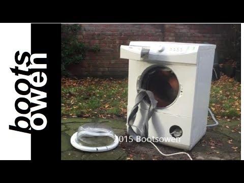 wash machine destroy
