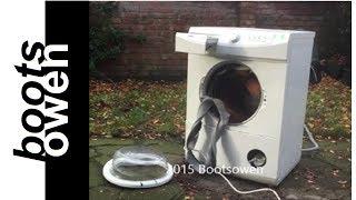 11 Bricks in a washing machine