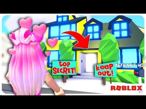 Sneaking Into The Creator Of Adopt Me S Mansion He Didn T Catch