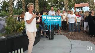 Virginia tragedy sparks North Las Vegas rally against injustice