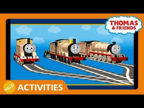 Thomas & Friends UK: Being Repainted