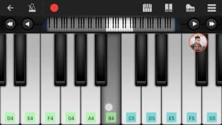 janam janam janam sath dilwale piano tutorial meri subha ho tumhi aur tumhi saam ho