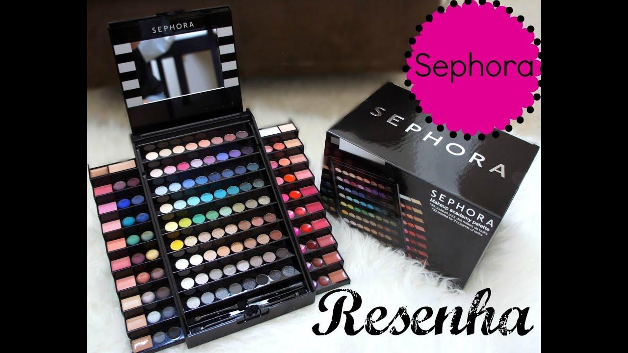 Resenha Makeup Academy Palette Sephora You