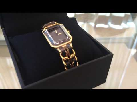 CHANEL 1987 PREMIERE WATCH: Based on Our Buyer's Request!