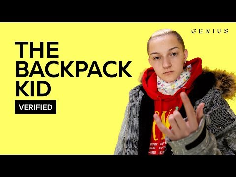 "The Backpack Kid ""Flossin""   & Meaning  Verified"