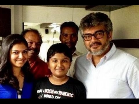 Actor Ajith Helps 2.65 Lakhs to an Artist Son's Education