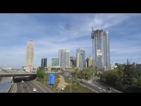 Tel Aviv and Ramat Gan, Israel - A Western view of the 21st century in Israel