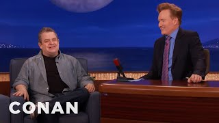 Patton Oswalt Almost Didn't Make It Here  - CONAN on TBS