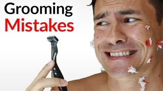 5 WORST Grooming Mistakes Men Make (And How To Fix Them!) | BIGGEST Manscaping DON'TS