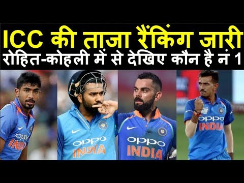 Virat Kohli और Rohit में कौन है नंबर 1, ICC का बड़ा ऐलान | Headlines Sports