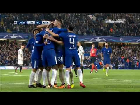 Chelsea vs Qarabag 6 0 All Goals & Highlights HD   Champions League 17 18