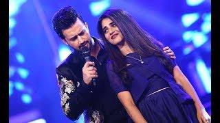 Atif Aslam Quratulain Balouch Performing  Tera Sang Yaara  QMobile Hum Style Awards 2017