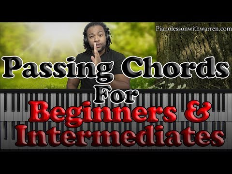 #62: Passing Chords For Beginners And Intermediates