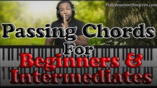 Download #62: Passing Chords For Beginners And Intermediates