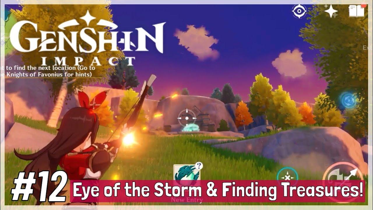 Genshin Impact CBT2 iOS/Android Gameplay Episode 12: Eye ...