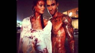 adam levine and behati prinsloo naked covered in blood on instagram