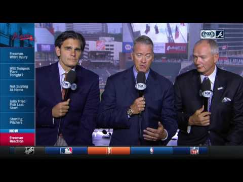 How will Braves respond with Freddie Freeman out? Chip Caray, Tom Glavine and Joe Simpson discuss