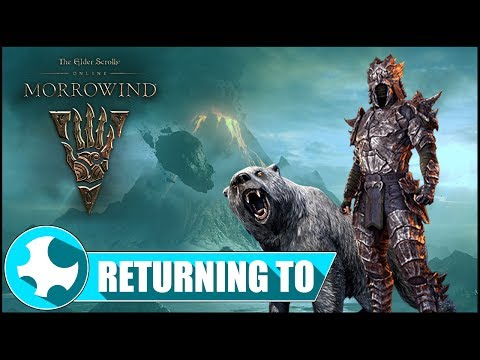 Returning to ESO | The Morrowind Experience | Starting Fresh in 2017