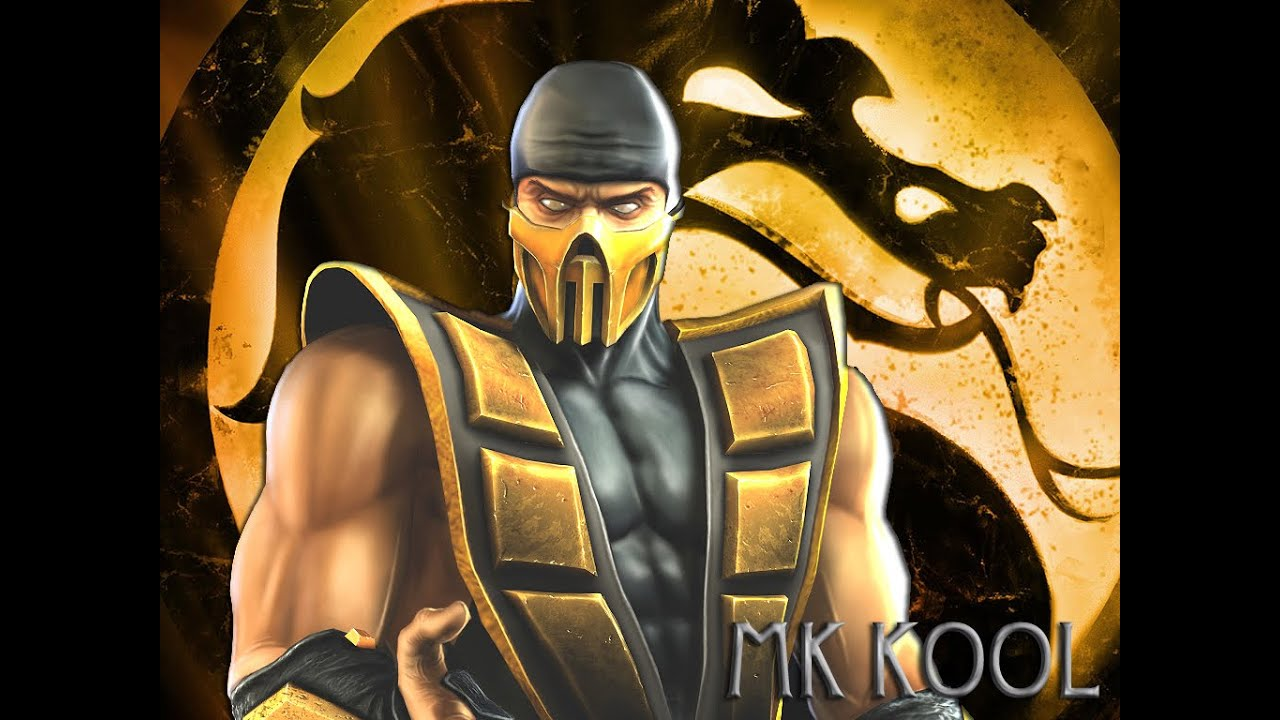 Mortal kombat armageddon scorpion arcade hard mode youtube - Mortal kombat scorpion wallpaper ...