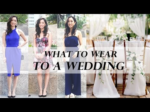 What to Wear to a Wedding If Youre Not the Dress-and-Heels Type 2020