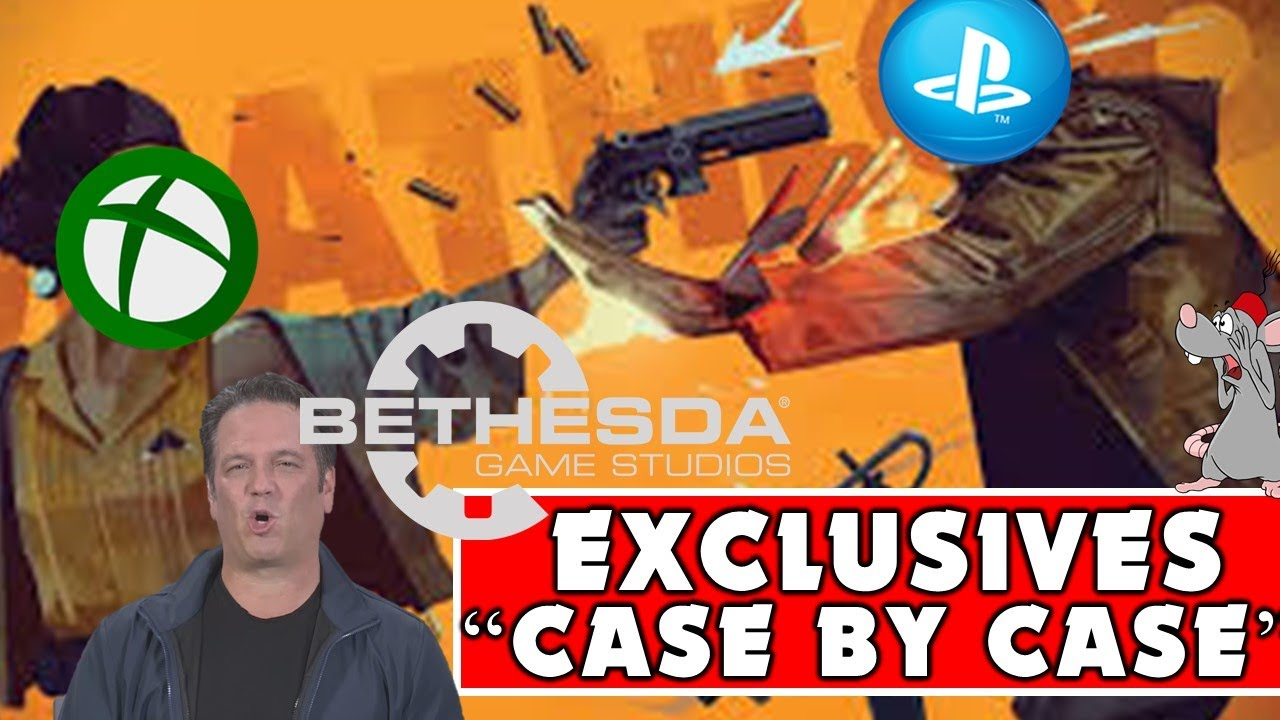 """XBOX BETHESDA EXCLUSIVES """"Case By Case"""" Not DONE Deal! What Next For Sony? Deathloop Xbox Info!"""