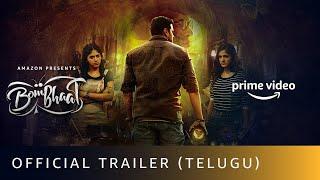 Bombhaat - Official Trailer (Telugu) | Sushanth, Chandini Chowdary, Simran Choudhary | Dec  3