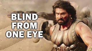 Secret Revealed   Rana Daggubati Blind In One Eye