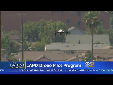 LAPD Panel Could Approve Drone Program Tuesday