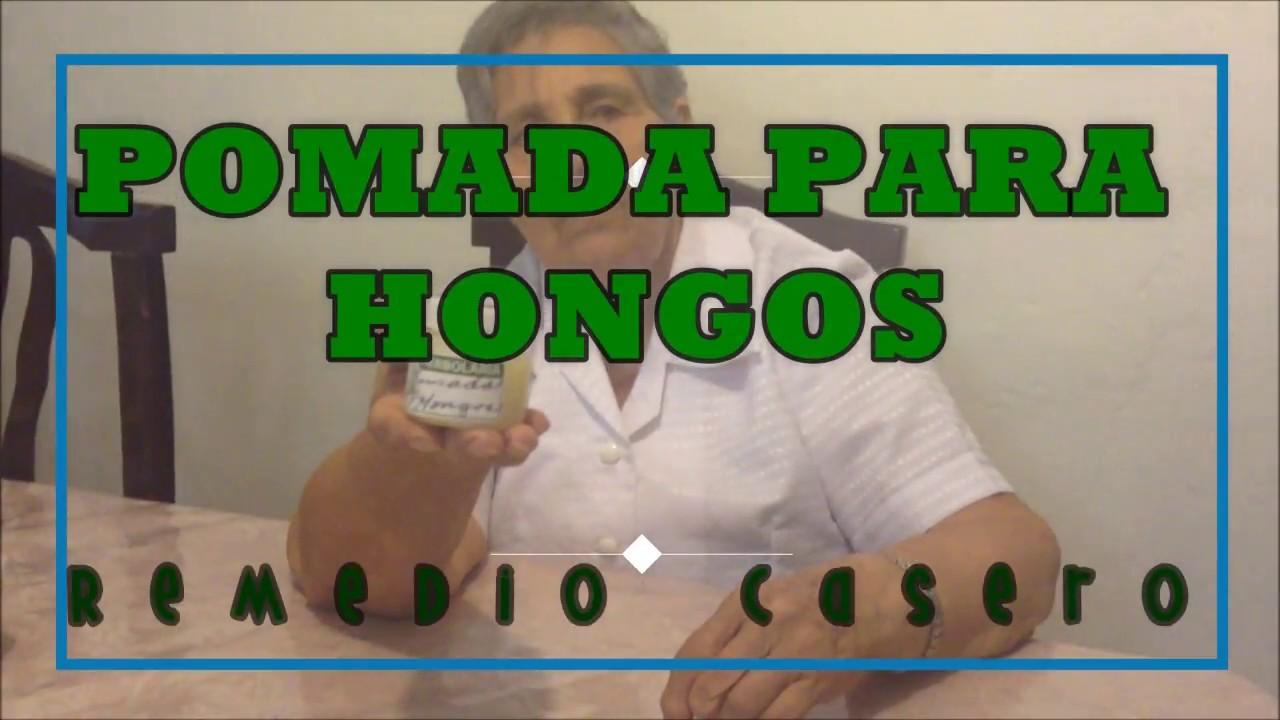 Pomada para hongos en uñas y piel | Casero - YouTube
