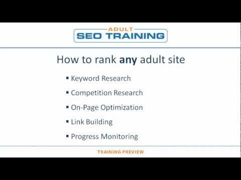 How to Rank Any Adult Site