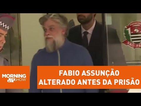 Imagens Mostram Fabio Assunção Alterado Antes Da Prisão