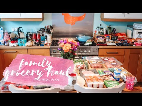 family-grocery-haul-&-meal-plan---tesco---june-2019