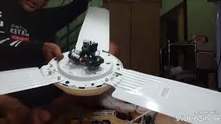 cara pasang kipas angin KDK WZ56P  pasang sendiri di salon