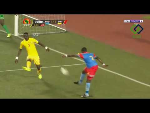 Download Congo DR 3 - 1 Guinea Africa World Cup Qualification 13/11/2017   HD