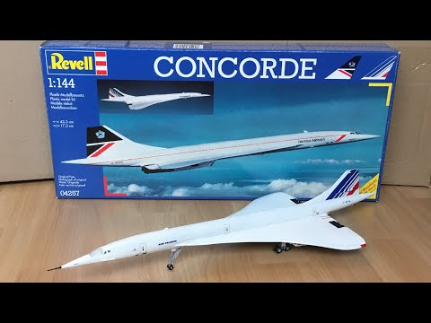 Assembly / Revell 1/144 Scale Concorde Air France/ Zocker J