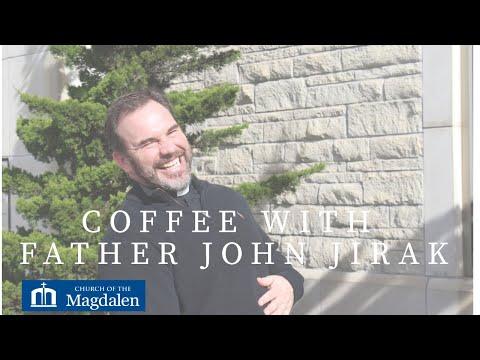 Father John Jirak & Guest Principal, Church of the Magdalen Catholic School, Kristin Schmitz