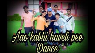 Aao kabhi haveli pe | STREE | Kriti sanon | Badshah singh | DANCE CHOREOGRAPHY by - GAURAV GD ||