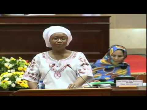Human Rights with a particular focus on the rights of the Woman-Fatima Singhateh 04-May-2016 Part 2