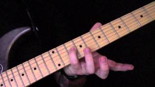 Seven Tears Are Flowing To The River Guitar Tutorial by Nargaroth