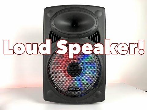 "BlueStream 12"" Bluetooth Loud Speaker! [Mind Blowing]"
