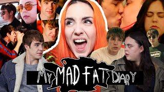 COMENTANDO MY MAD FAT DIARY | Andrea Compton