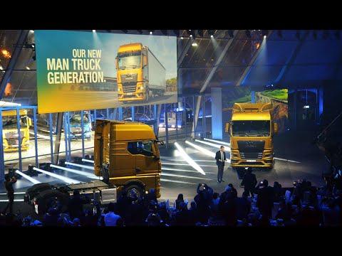 Premiere MAN New Generation Of Trucks