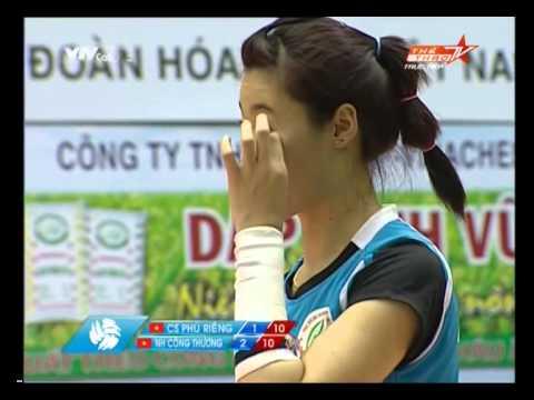 Ngân hàng Công thương vs Cao su Phú Riềng Set 4 - VTV Bình Điền Cup 2014
