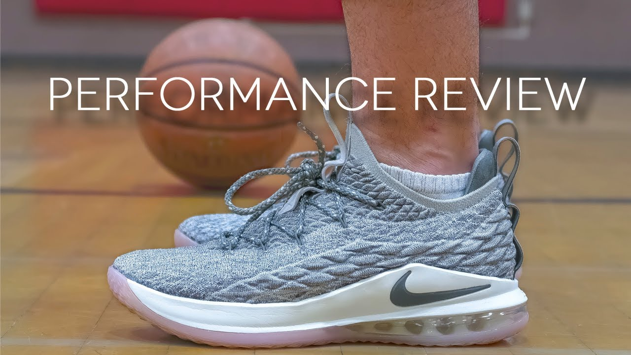5e43f961b253 Nike LeBron 15 Low Performance Review - YouTube
